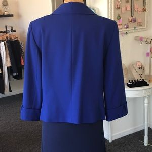 Tahari Jackets & Coats - Tahari Arthur Levine Royal Blue Suit Jacket